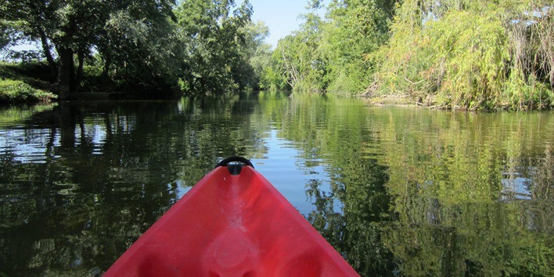 Camping La Dordogne Verte : Canoe Riviere 2