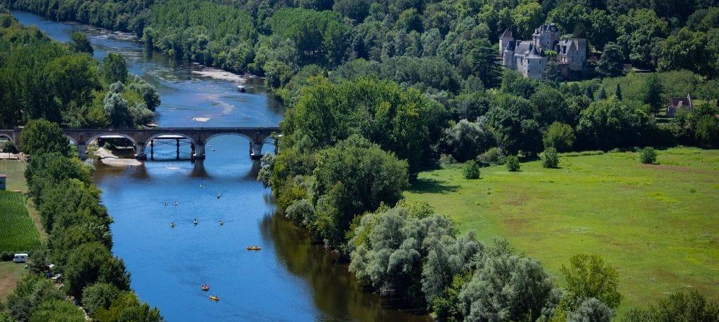 Camping La Dordogne Verte : Dordogne Background2