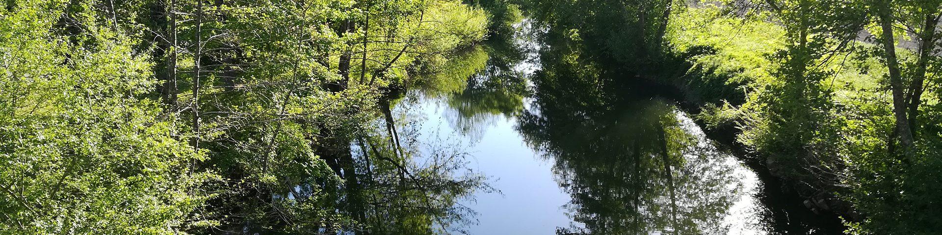 Camping La Dordogne Verte : Nature Riviere