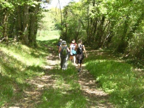 Camping La Dordogne Verte : Rando Saint Aigulin