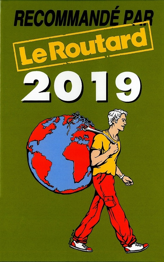 Camping La Dordogne Verte : Logo Routard 2019